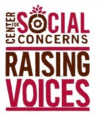 Center for Social Concerns Raising Voices